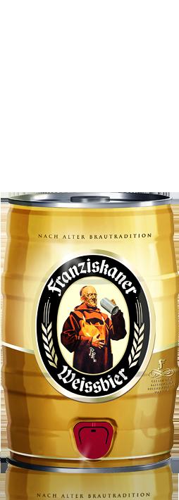 Franziskaner Weissbier barrel