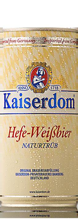 Kaiserdom Hefe-Weisbier can 1L