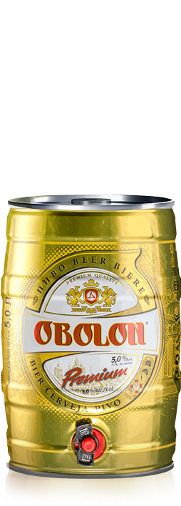 Obolon Premium barrel 5L