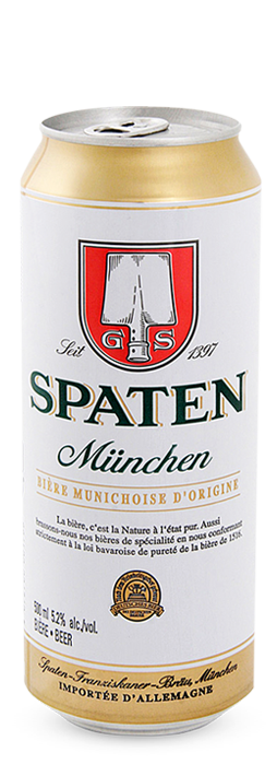 Spaten Muenchen Hell can