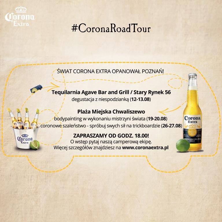 CoronaRoadTour Poznań