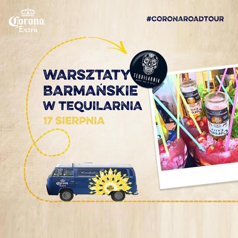 CoronaRoadTour-Warsztaty barmańskie