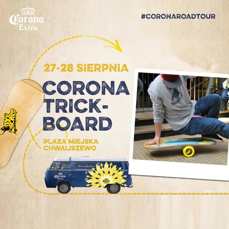 Corona Trickboard
