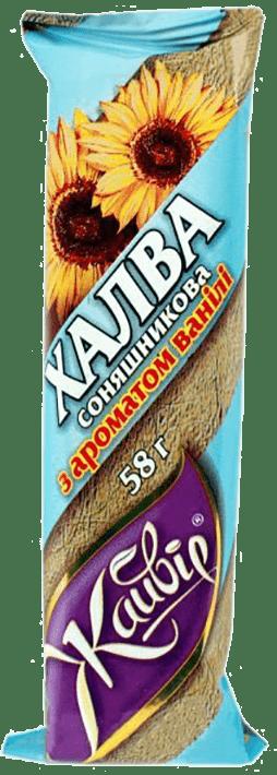 Chałwa słonecznikowa z aromatem waniliowym