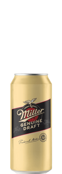 Miller Genuine Draft 0,5l can
