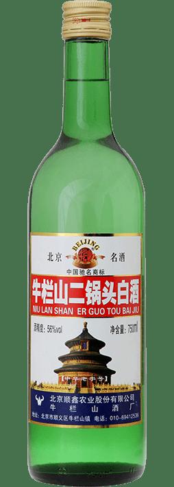 Niulanshan Erguotou Baijiu 0,75l