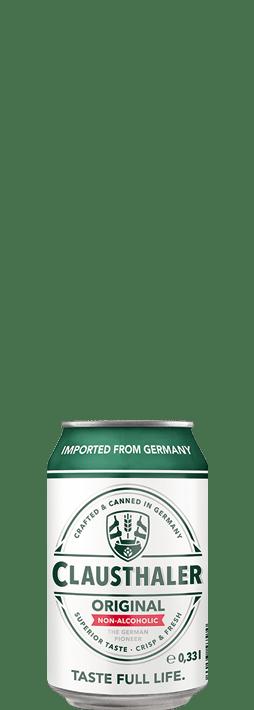 Clausthaler Original 330ml can