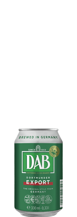 Dab Dortmunder Export 330ml can