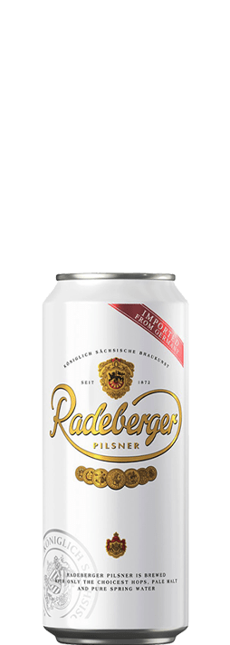 Radeberger Pilsner 500ml can